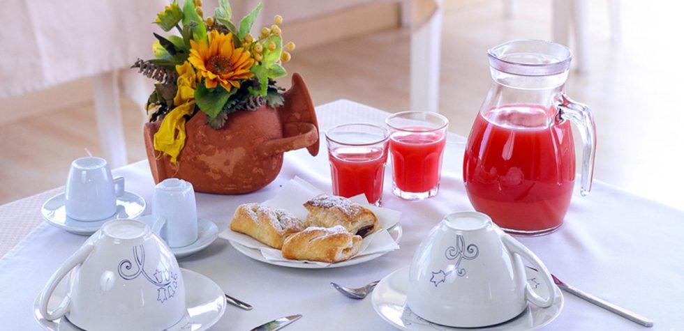 La colazione del b&b Nonna Nina